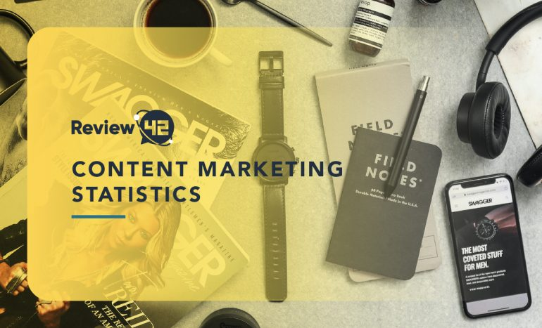 Content Marketing Statistics - Featured Image