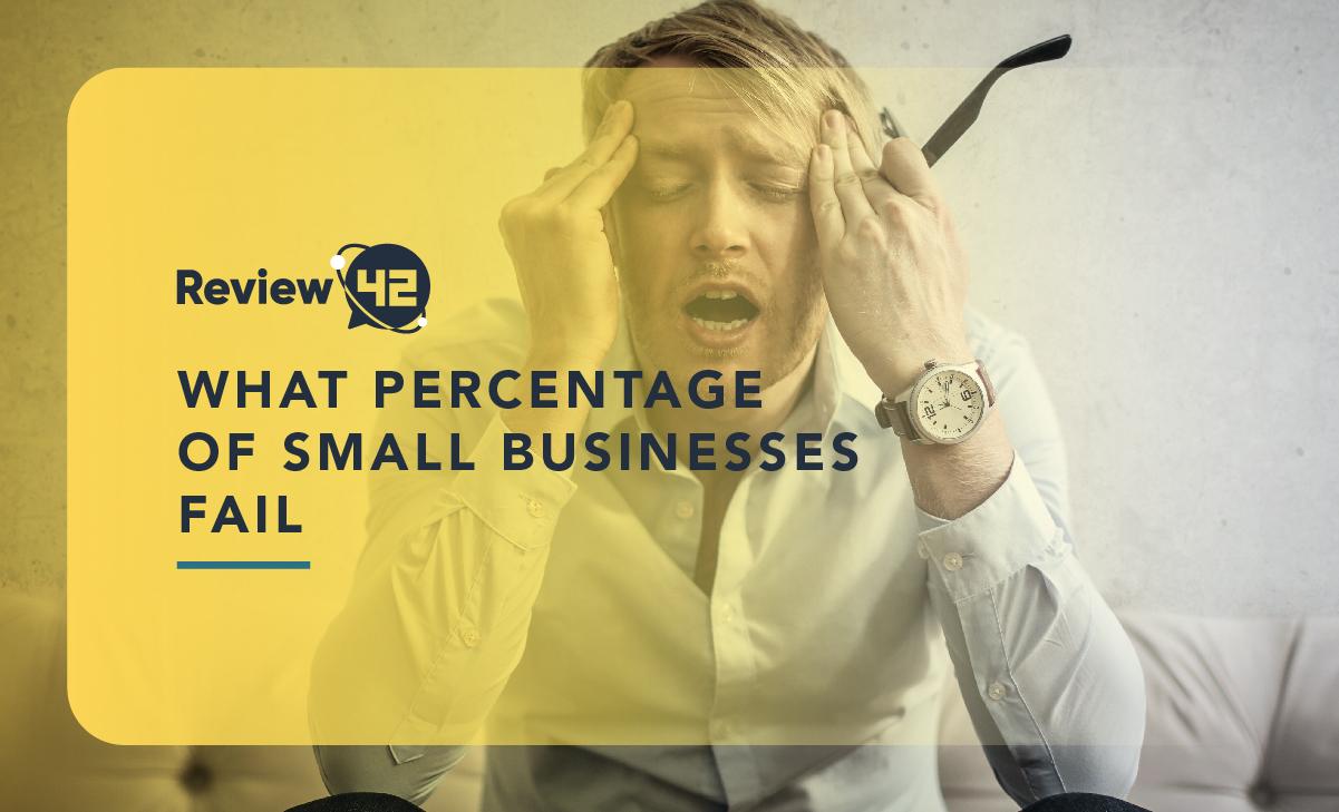 What Percentage of Small Businesses Fail? 59+ Vital Statistics