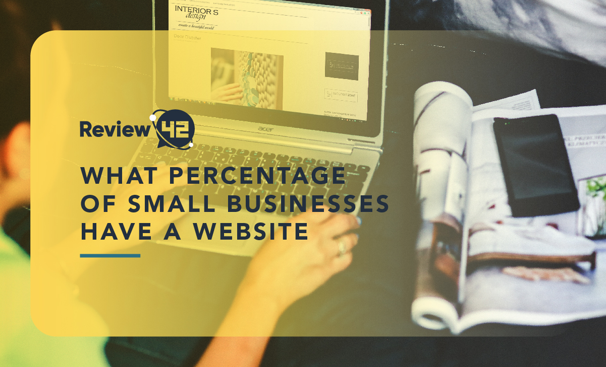 What Percentage of Small Businesses Have a Website