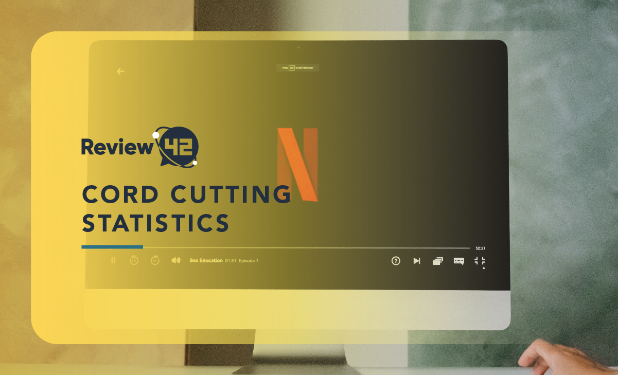 30+ Cord Cutting Statistics [Updated with 2021 Trends]