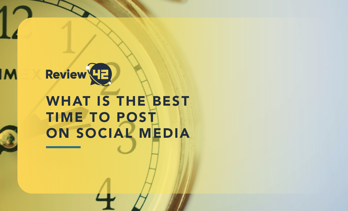 What Is the Best Time to Post on Social Media? [2020's Update]