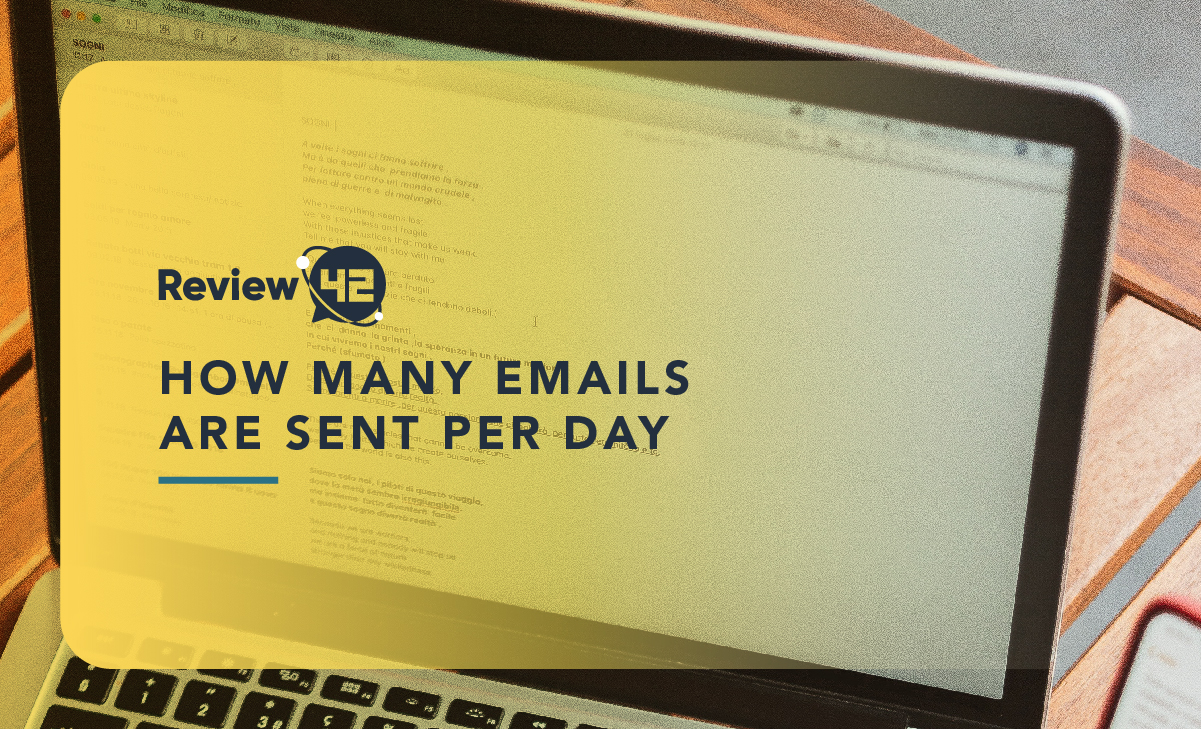 How Many Emails Are Sent Per Day in 2021? [And More Thrilling Stats]