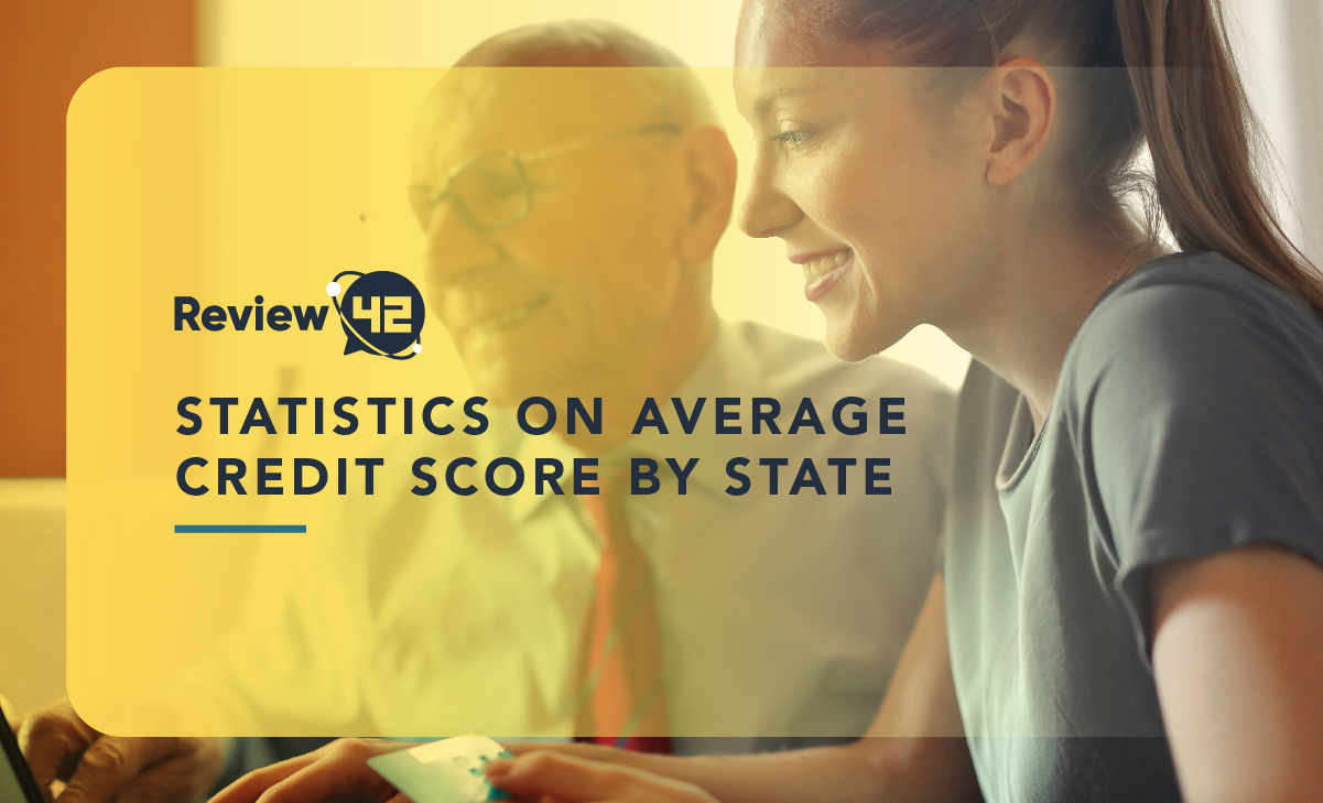 Statistics on Average Credit Score by State in 2021