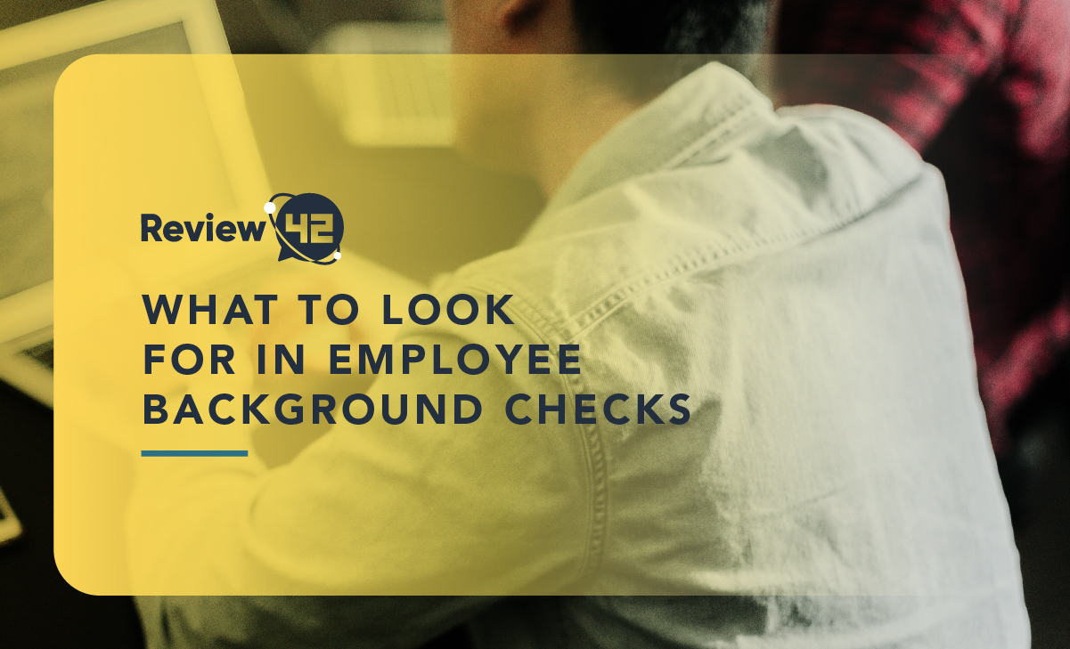 What to Look For in Employee Background Checks [2021 GUIDE]