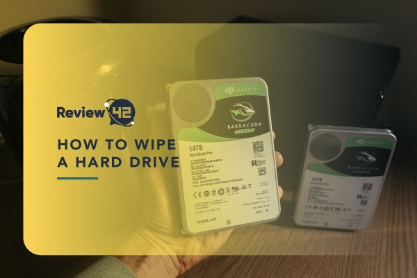 How to Wipe a Hard Drive [Guides for Mac & Windows]