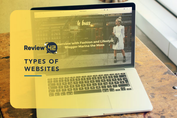 15 Different Types of Websites [Information on Each Option]