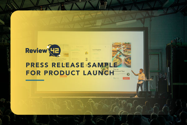 Press Release Sample for Product Launch [Ultimate Guide]