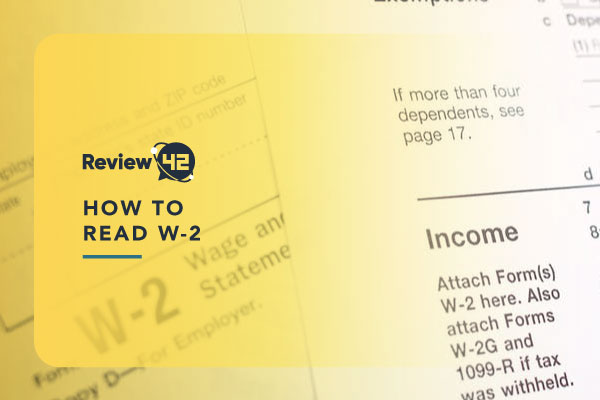 What's a W-2 Earnings Form and How to Read It?